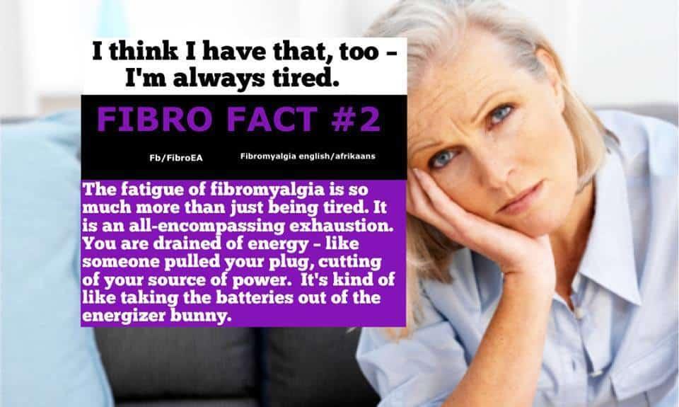 Fibro Fact2 #fatigue
