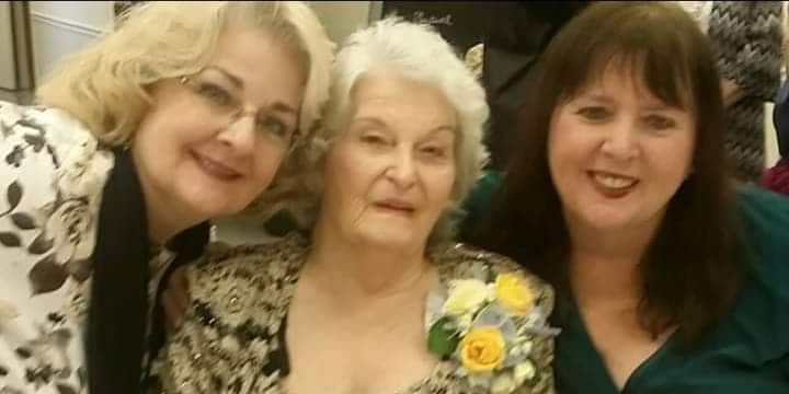 Granny Hen with two of her daughters