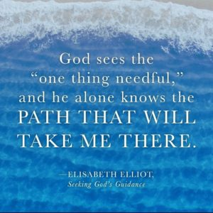 He knows the path; Elisabeth Elliott