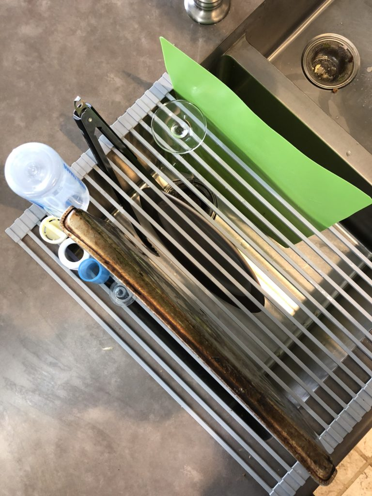 Roll up kitchen drying rack by Kraus