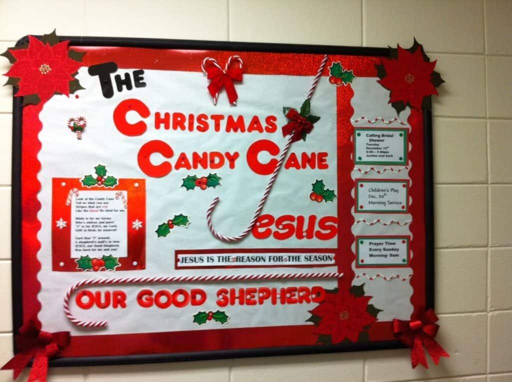 December Bulletin Board Christmas