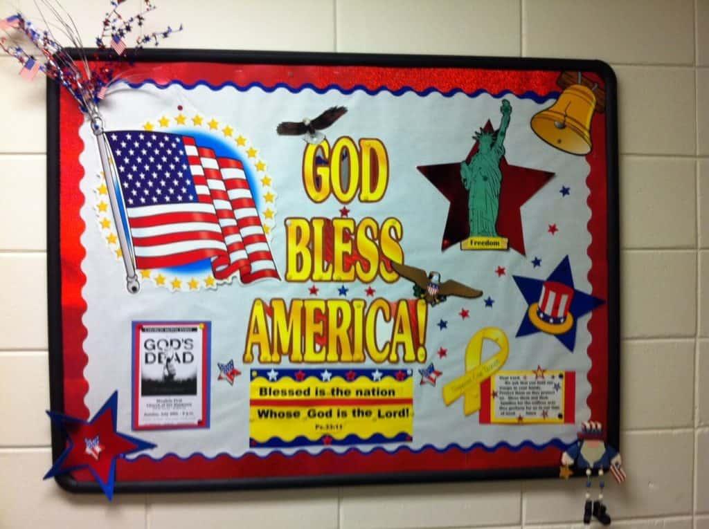 July BUlletin Board USA