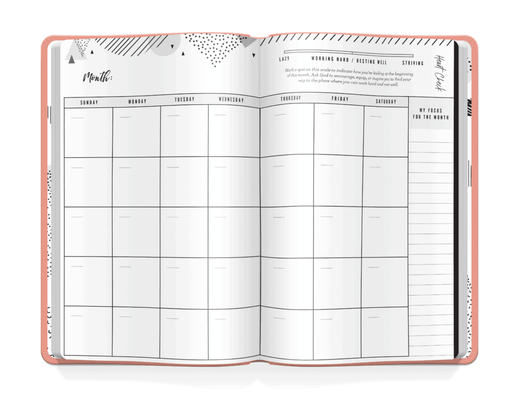planner page 3