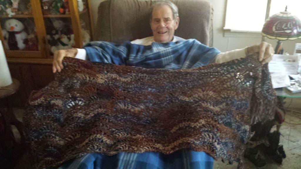 shut-in crochet joy in adversity