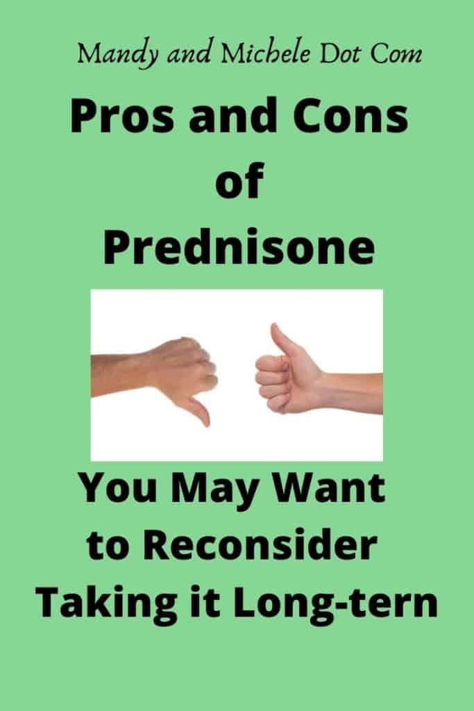 pros and cons prednisone